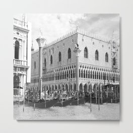 View of Venice St. Mark's Square Metal Print