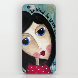 Coco's Closet- Be Kind. Be Brave. Be Honest. Be Daring iPhone Skin