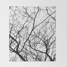 Branches Throw Blanket