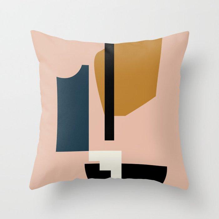 Shape study #2 - Lola Collection Throw Pillow