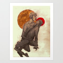 FOR YOU I IMAGINED THE SUN Art Print