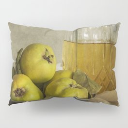 Still life with yellow quinces Pillow Sham