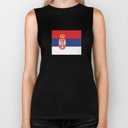 flag of Serbia-balkan,serbian,europe,yugoslavia, Pannonian,Belgrade,Novi Sad,nis,kragujevac Biker Tank
