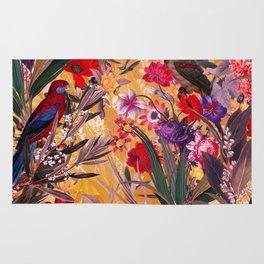 Floral and Birds XXVIII Rug