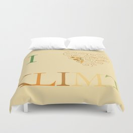 I heart Klimt Duvet Cover