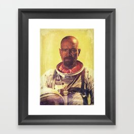 I am the one who goes into space Framed Art Print