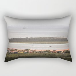 Bonaire and Klein Bonaire Rectangular Pillow