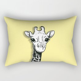The Cute Giraffe Rectangular Pillow