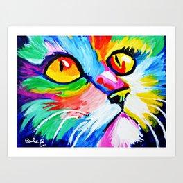 Cole's Cat Art Print