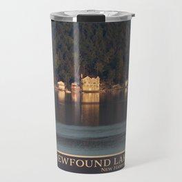 Houses on the Newfound Lake Travel Mug