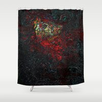 geology Shower Curtains featuring volcano beautiful nature by Alexandr-Az