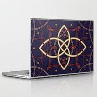 tarot Laptop & iPad Skins featuring Ostara Tarot I by Mariya Olshevska