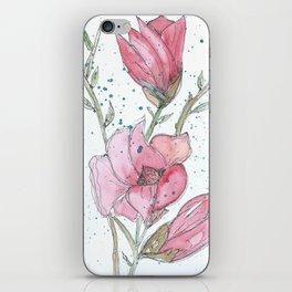 Magnolia #3 iPhone Skin