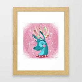 Merry & Bright (Pastel) Framed Art Print