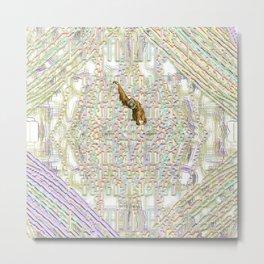 entoptic arboreal Metal Print