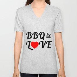 Bbq is Love Unisex V-Neck