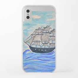 .: ship :. Clear iPhone Case