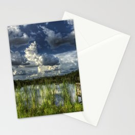 Image USA Gator Lake Florida HDRI Nature Sky Scene Stationery Cards
