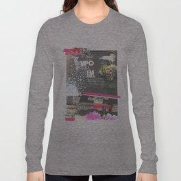 _ o tempo que ficou _ Long Sleeve T-shirt