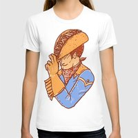 taco T-shirts featuring Taco Cowboy by Jonah Makes Artstuff