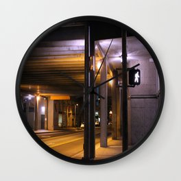 Sterile Contamination Wall Clock