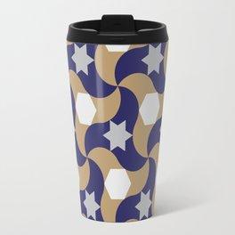 Geometric arabic pattern Travel Mug