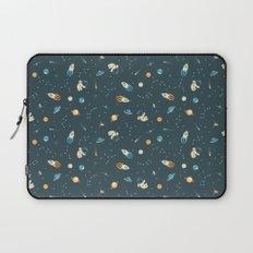 Lil Astronaut Pattern (8bit) Laptop Sleeve