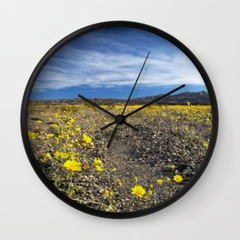 Rising Bloom Wall Clock
