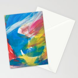 Abstract Artwork Colourful #4 Stationery Cards