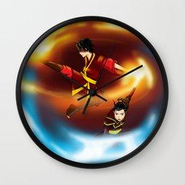 Firebenders Wall Clock