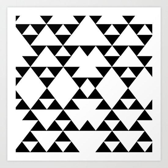 Tri-Tribe I Art Print