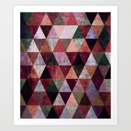 Abstract #380 Art Print