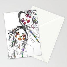Digital_Girl Stationery Cards