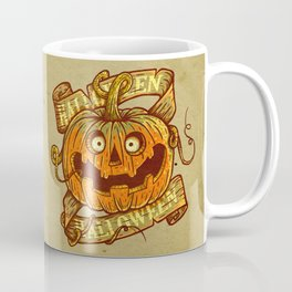 Halloween dark khaki Coffee Mug