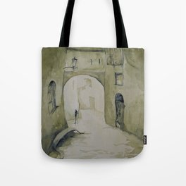 Along the streets Tote Bag