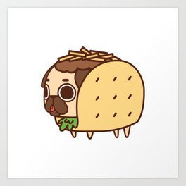 Puglie Taco Art Print