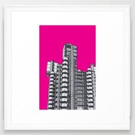 London Town - Lloyds of London Framed Art Print
