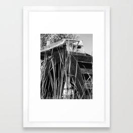 Waterwheel Framed Art Print
