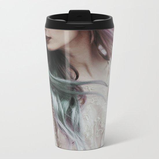 Pink wind Metal Travel Mug