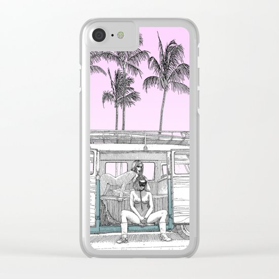 asc 691 -  Book cover for La Musardine Clear iPhone Case
