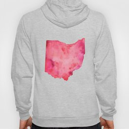Red Ohio Hoody