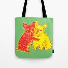 <3 Doggies Tote Bag