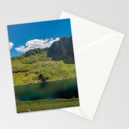 Glaslyn Lake Snowdon Wales Stationery Cards