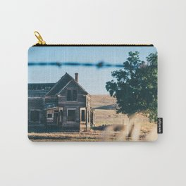 Abandoned Farmhouse in Dufur, Oregon Carry-All Pouch