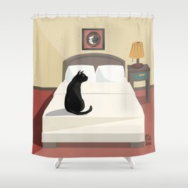 Bedroom Shower Curtain