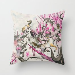 Tame Throw Pillow