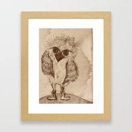 Tough Chick Framed Art Print