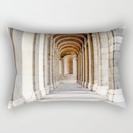Sun Streams Down the Hall Rectangular Pillow