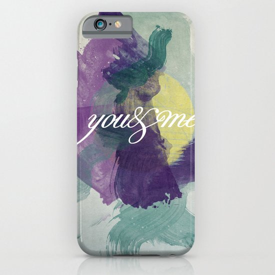 you&me iPhone & iPod Case