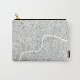 City Map London watercolor map Carry-All Pouch